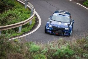 Nil Solans, Xavi Moreno, Skoda Fabia Rally2 evo