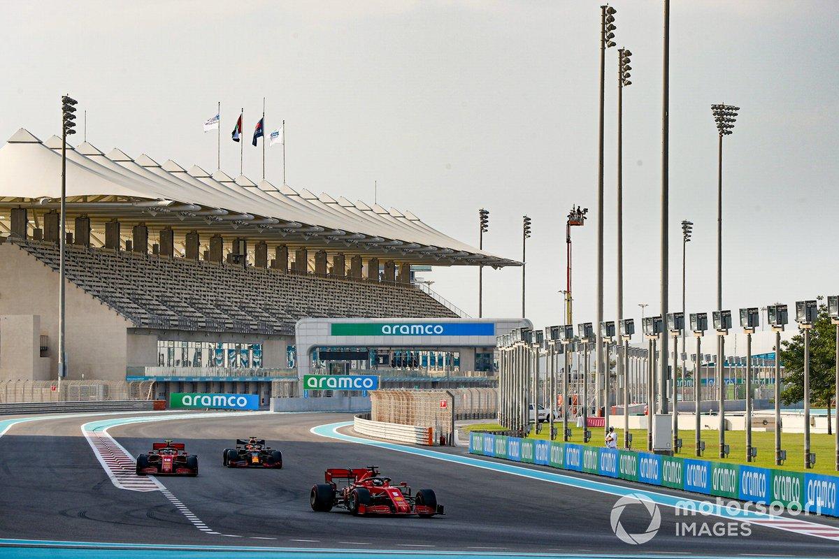 Sebastian Vettel, Ferrari SF1000, Charles Leclerc, Ferrari SF1000, Max Verstappen, Red Bull Racing RB16