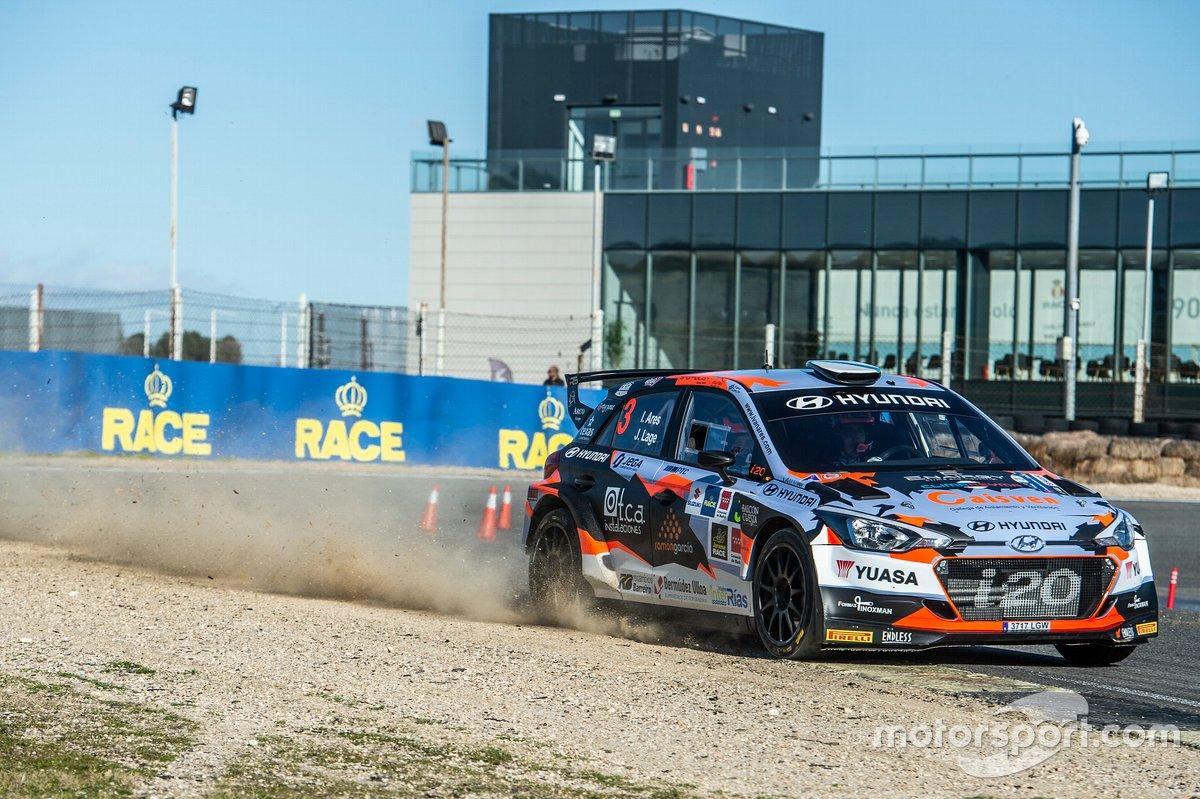 Iván Ares, J. Lage, Hyundai i20 R5