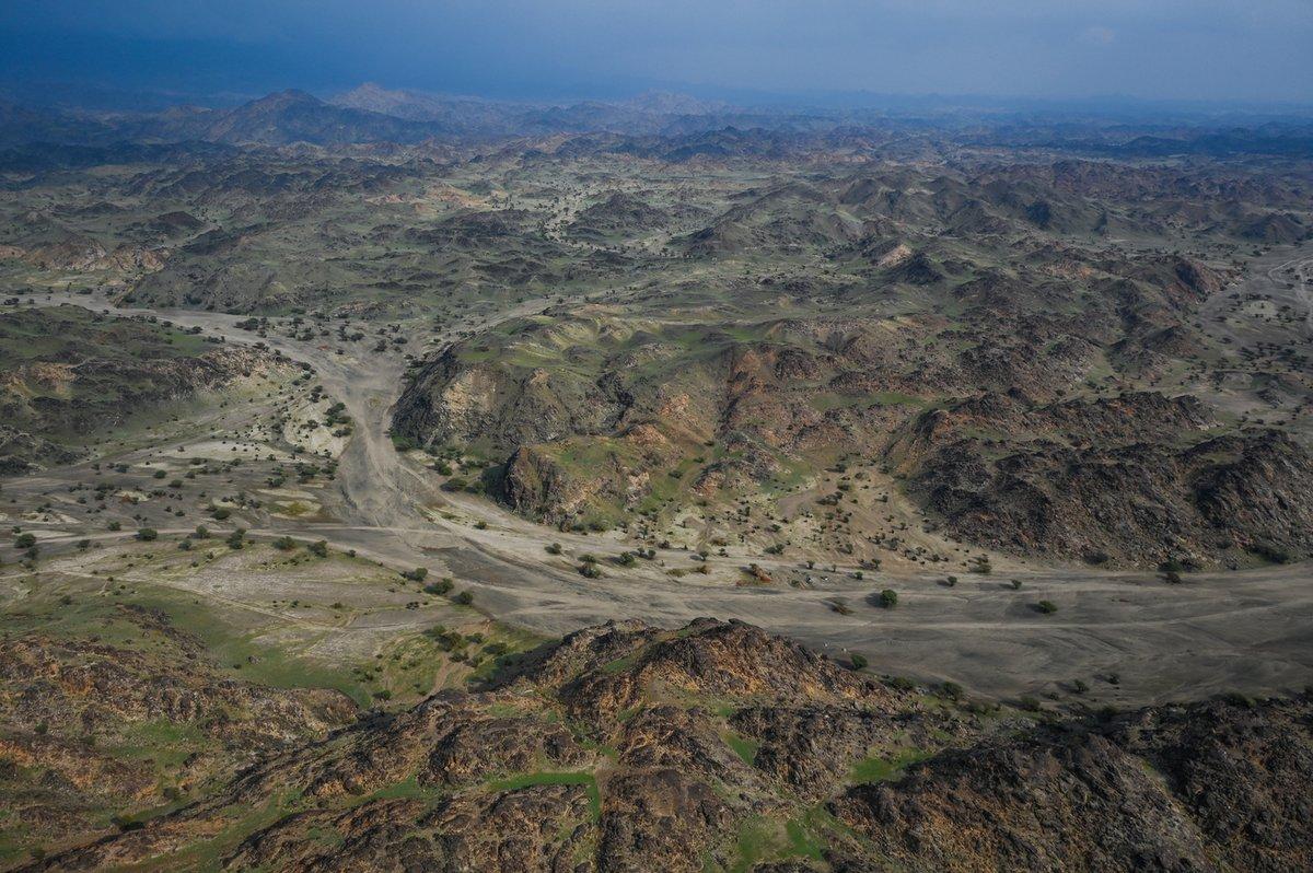 Paisajes de la etapa 11 del Dakar 2021