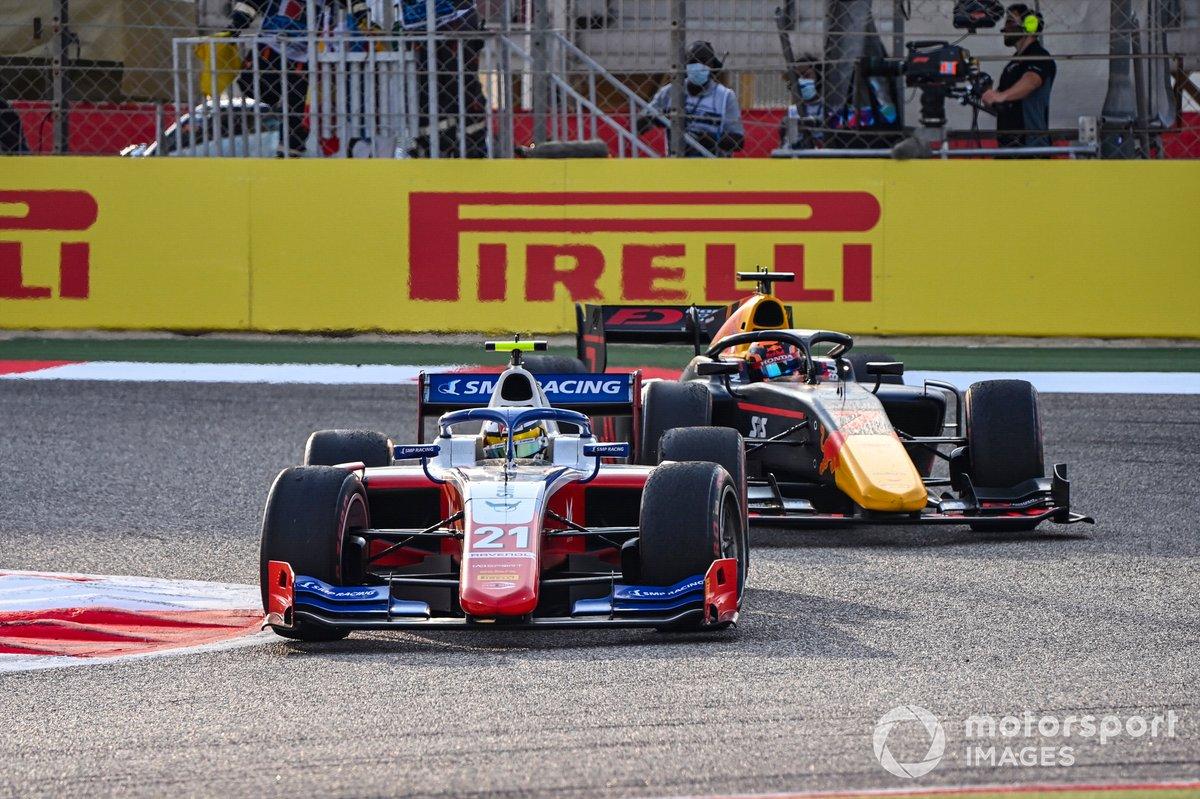 Robert Shwartzman, Prema Racing precede Yuki Tsunoda, Carlin