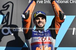 Podium: race winner , Miguel Oliveira, Red Bull KTM Tech 3