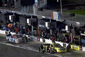 Matt Crafton, ThorSport Racing, Toyota Tundra Menards and Johnny Sauter, ThorSport Racing, Toyota Tundra Vivitar/RealTree