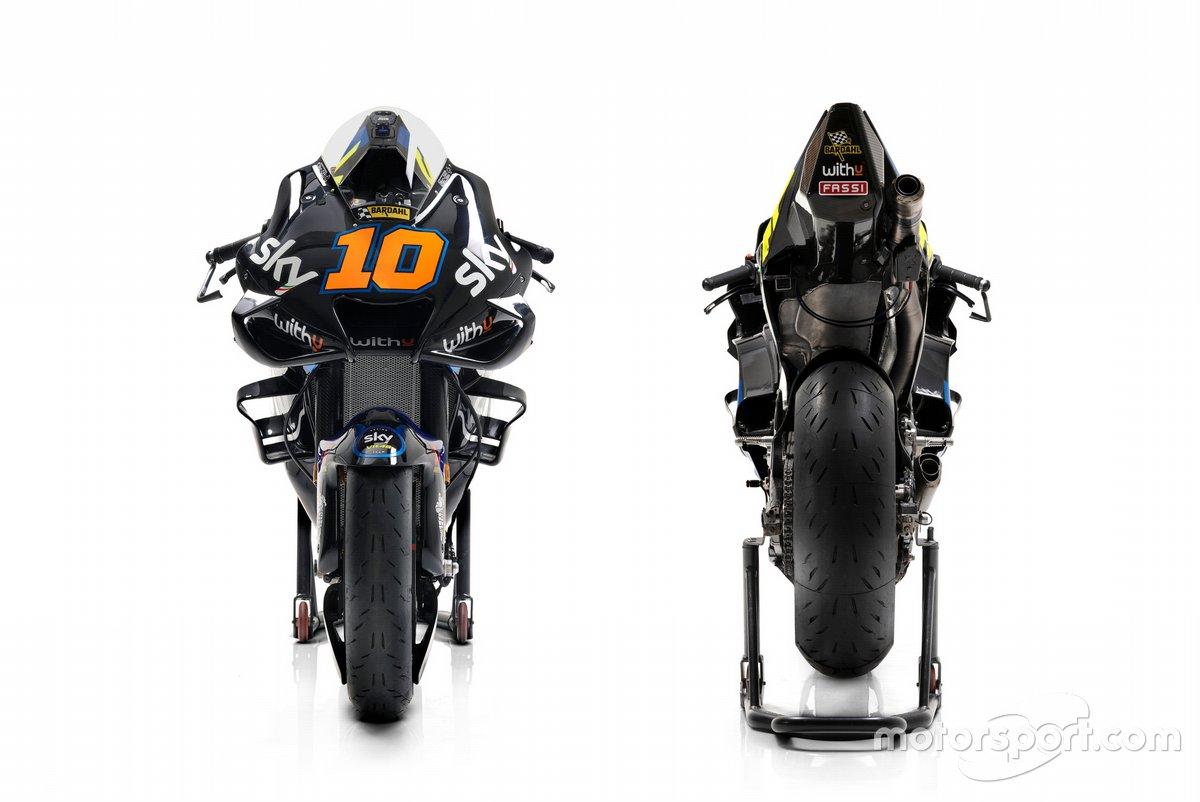 La moto di Luca Marini, Sky VR46 Team