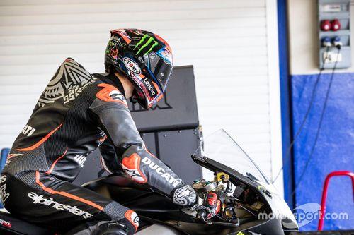 Essais Ducati à Jerez