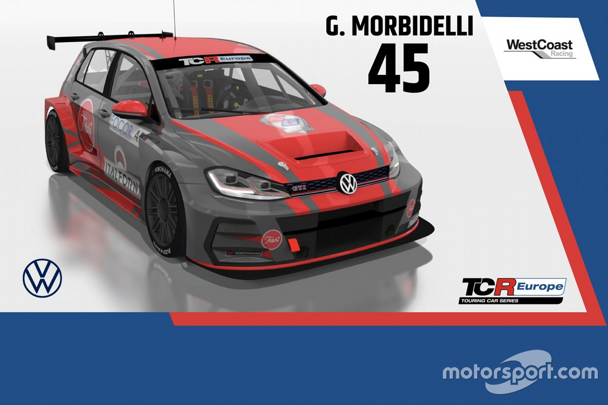 Gianni Morbidelli, WestCoast Racing, Volkswagen Golf GTI TCR
