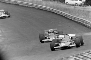 Игнацио Джунти, Ferrari 312B и Йохен Риндт, Lotus 72C Ford