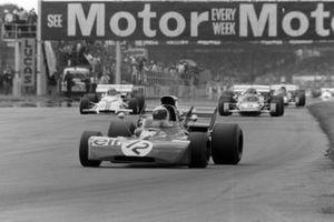 Jackie Stewart, Tyrrell 003 Ford, Clay Regazzoni, Ferrari 312B2, Jo Siffert, BRM P160