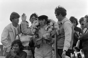 Le vainqueur Jackie Stewart, Tyrrell