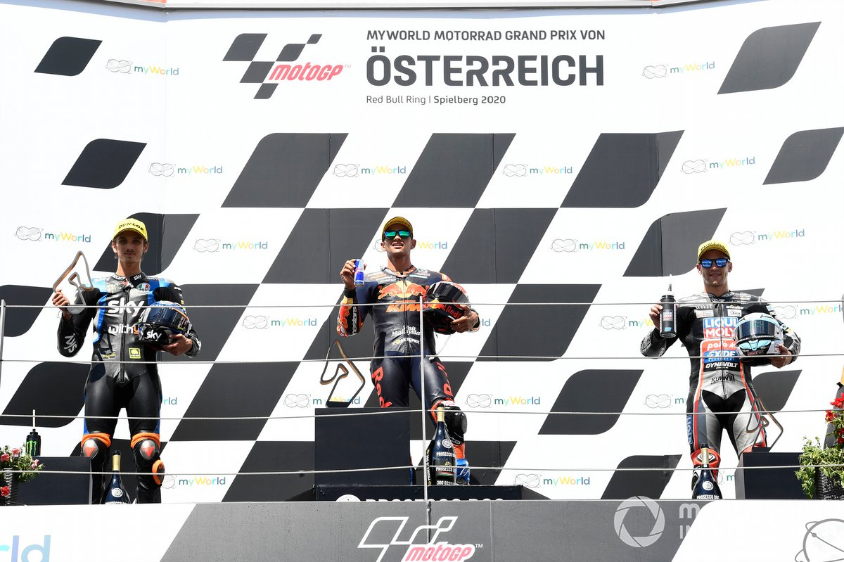 Luca Marini, Sky Racing Team VR46, Jorge Martin, Red Bull KTM Ajo, Marcel Schrotter, Intact GP