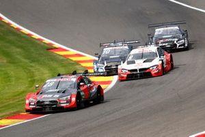 Loic Duval, Audi Sport Team Phoenix, Audi RS 5 DTM, Robert Kubica, Orlen Team ART, BMW M4 DTM, Harrison Newey, Audi Sport Team WRT, Audi RS 5 DTM, Ferdinand Habsburg, Audi Sport Team WRT, Audi RS 5 DTM
