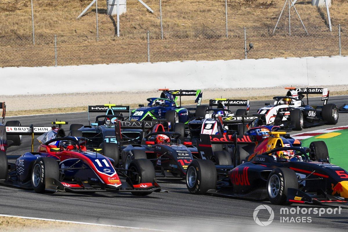 Liam Lawson, Hitech Grand Prix, David Beckman, Trident Motorsport, Enzo Fittipaldi, Hwa Racelab