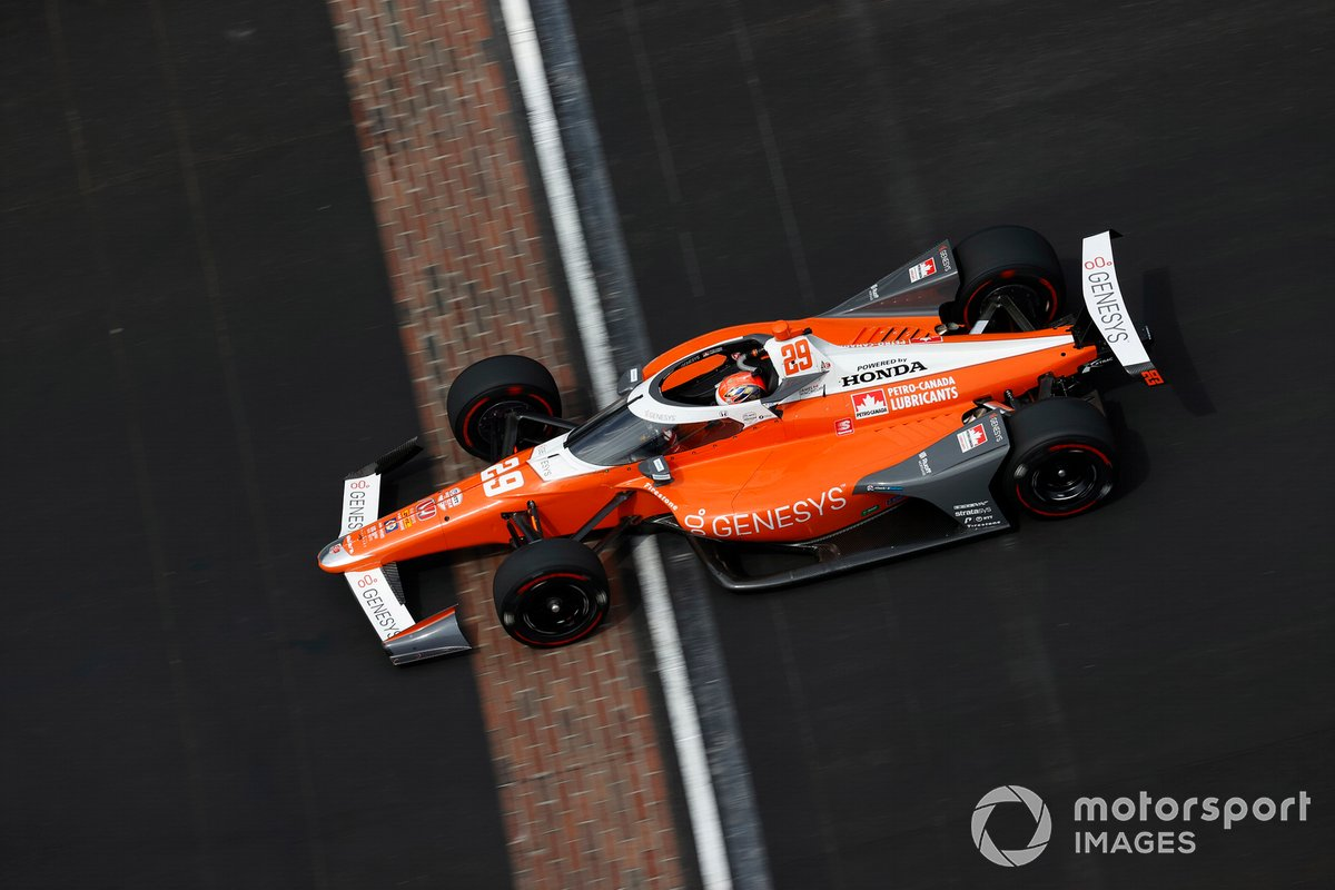 6º James Hinchcliffe, Andretti Autosport - Honda