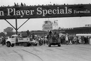 Massencrash beim GP Großbritannien 1973 in Silverstone
