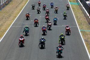 Partenza del GP di Andalusia