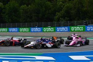 Louis Deletraz, Charouz Racing System devant Giuliano Alesi, HWA Racelab