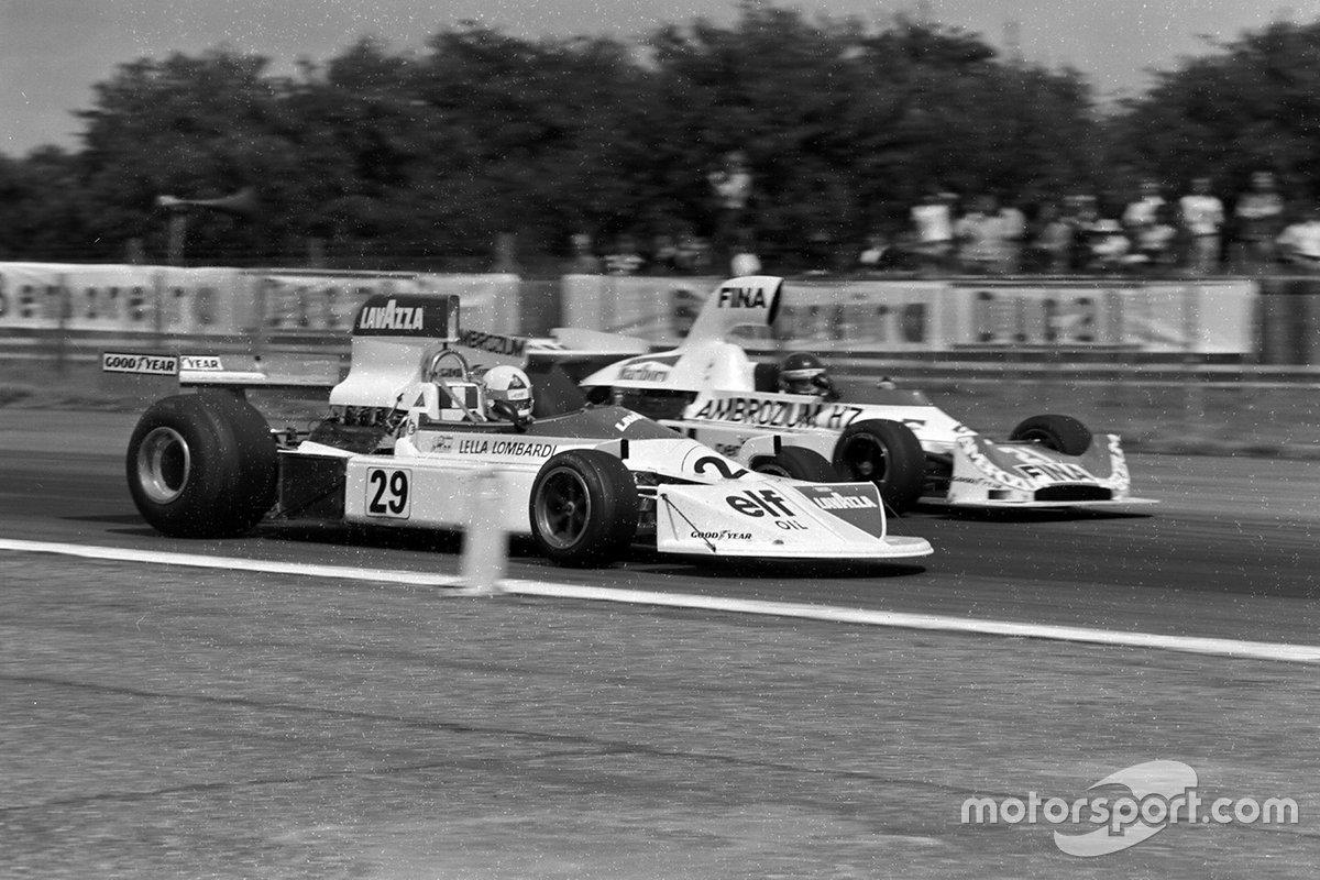 Lella Lombardi, March 751 Ford, Jacques Laffite, Williams FW04
