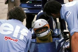Jody Scheckter, Tyrrell 007, Ken Tyrrell, propietario del equipo Tyrrell