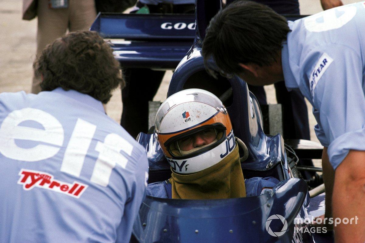 Jody Scheckter, Tyrrell 007, Ken Tyrrell, Tyrrell Team Owner