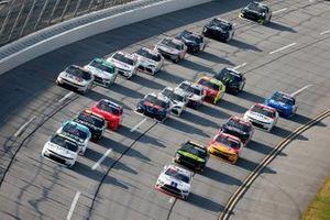 Chase Briscoe, Stewart-Haas Racing, Ford, Justin Haley, Kaulig Racing, Chevrolet Camaro