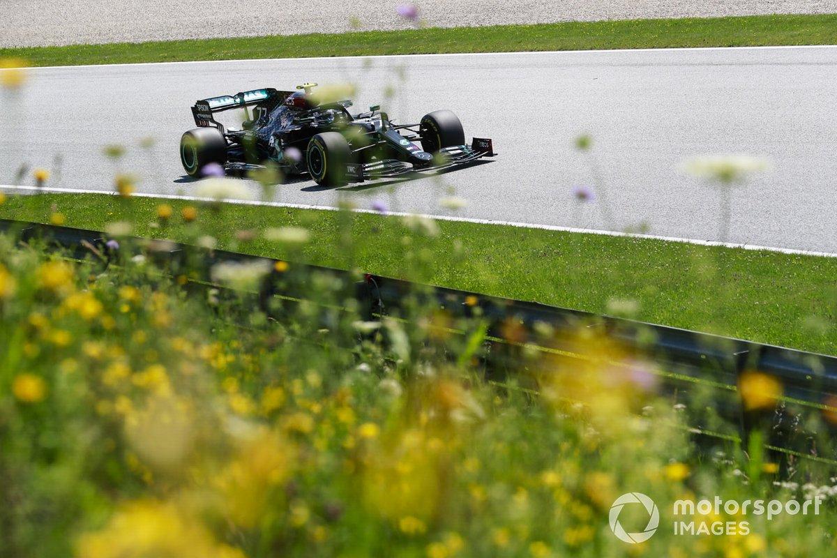5º Valtteri Bottas, Mercedes F1 W11, Spielberg 2020. Tiempo: 1:02.939