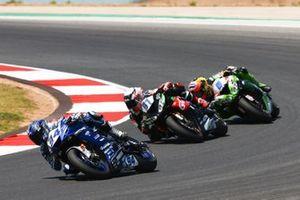 Corentin Perolari, GMT94 Yamaha, Manuel Gonzalez, Kawasaki ParkinGO Team, Philip Öttl. Kawasaki Pucetti Racing