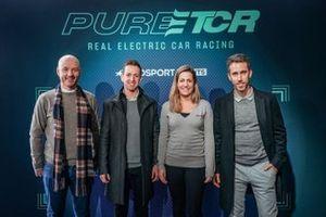 Daniel Haglof, PWR Racing, Néstor Girolami, Honda Racing, Michela Cerruti, Romeo Ferraris, e Esteban Guerrieri, Honda Racing