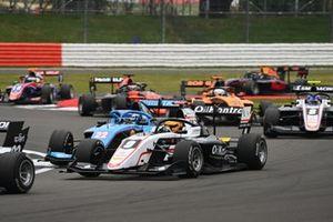 Sebastian Fernandez, ART Grand Prix leads Matteo Nannini, Jenzer Motorsport