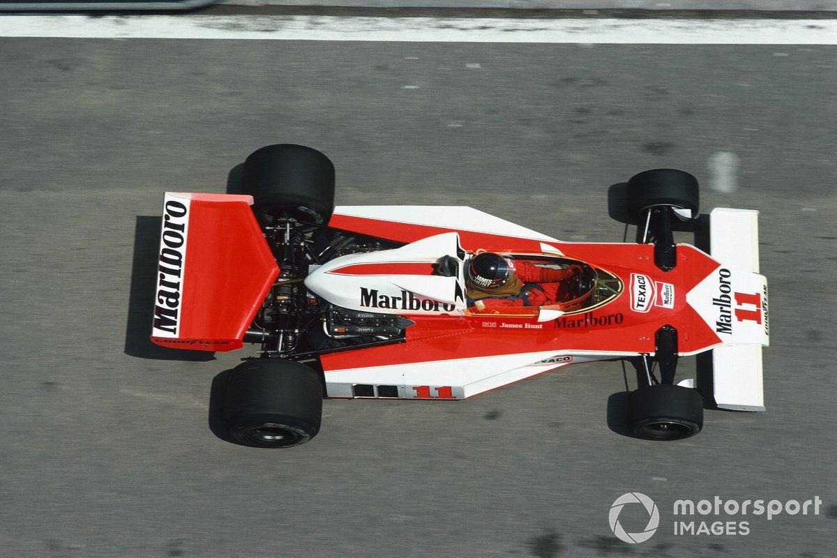James Hunt, McLaren M23-Ford