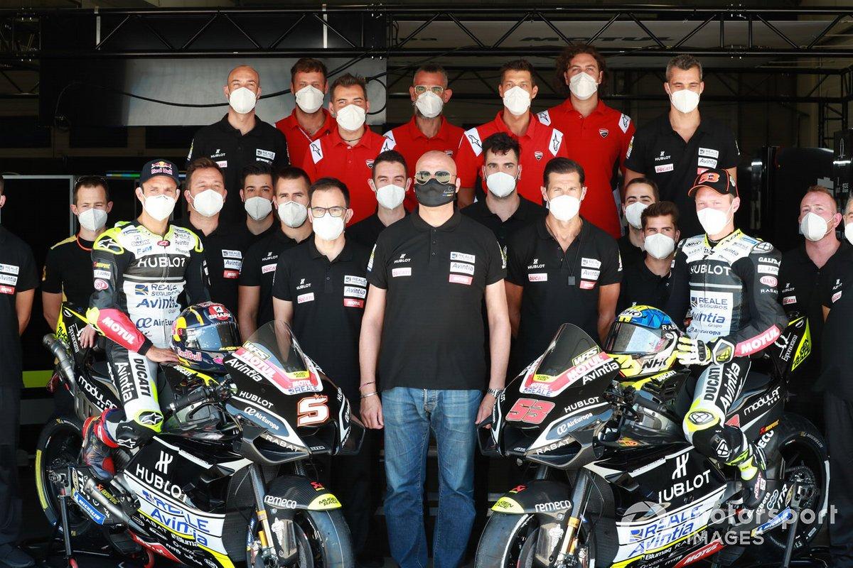 Johann Zarco, Avintia Racing, Raul Romero, Rubern Xaus, Tito Rabat, Avintia Racing, Avintia MotoGP