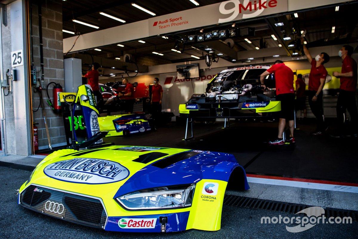 L'auto di Mike Rockenfeller, Audi Sport Team Phoenix, Audi RS 5 DTM
