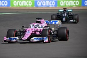 Nico Hulkenberg, Racing Point RP20, Lewis Hamilton, Mercedes F1 W11