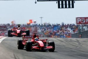 Felipe Massa, Ferrari F2007 Kimi Raikkonen, Ferrari F2007