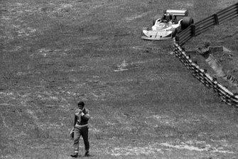 Jody Scheckter, Wolf, walks back