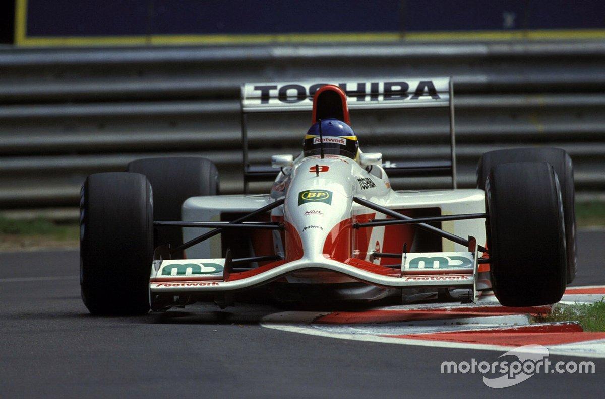 Footwork FA13, à moteur Mugen-Honda (1992)