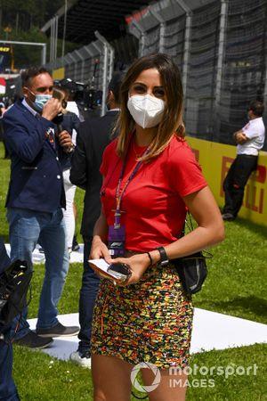 Федерика Мазолин, Sky Sports Italia, на стартовой решетке