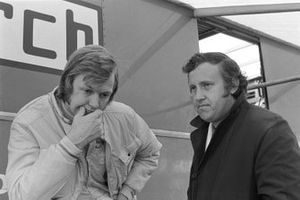 Director March Alan Rees, Ronnie Peterson, March 711 Ford