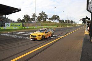 Race winner Nick Percat, Brad Jones Racing Holden