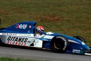 Érik Comas, Ligier JS37 Renault