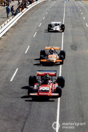 Henri Pescarolo, March 701 Ford, Jackie Pretorius, Brabham BT26A Ford, Howden Ganley, British Racing Motors P153