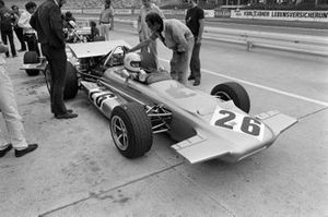 Hubert Hahne, March 701 Ford