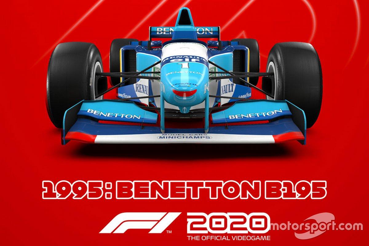 El Benetton de 1995 en 'F1 2020'