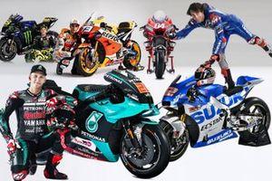 Les pilotes MotoGP 2020