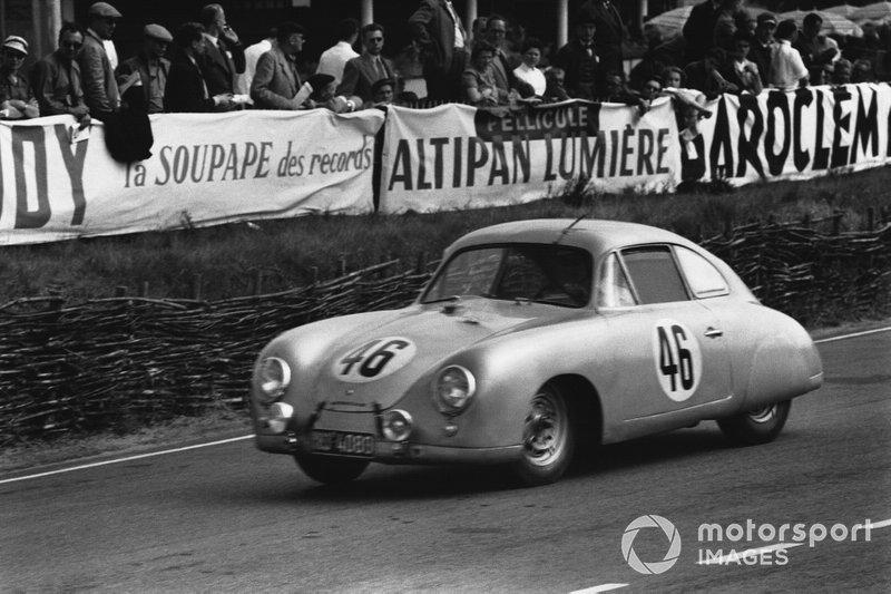 Le Mans 1953 - Gustave Olivier, Eugéne Martin, Porsche 356