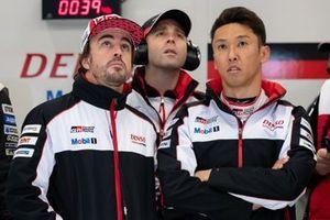 #8 Toyota Gazoo Racing Toyota TS050: Kazuki Nakajima, Fernando Alonso