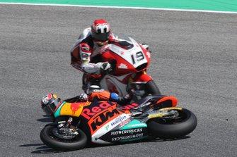 Jorge Martin, KTM Ajo crash