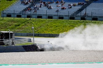 Carsh of Valtteri Bottas, Mercedes AMG W10
