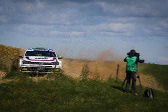 Albert von Thurn und Taxis, Bernhard Ettel, Volkswagen Polo R5, FIA ERC, Rally Poland