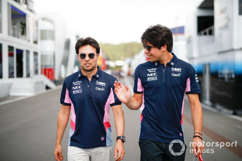 Sergio Perez, Racing Point ve Lance Stroll, Racing Point