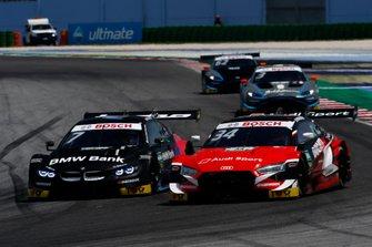 Bruno Spengler, BMW Team RMG, BMW M4 DTM, Andrea Dovizioso, Audi Sport Team WRT, Audi RS 5 DTM